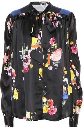 Preen by Thornton Bregazzi Evan floral silk blouse