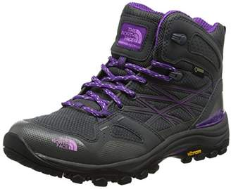 The North Face Women's Hedgehog Fastpack Mid GTX High Rise Hiking Boots, (Dark Shadow Grey/Violet Tulle TCR), 5 (38 EU)
