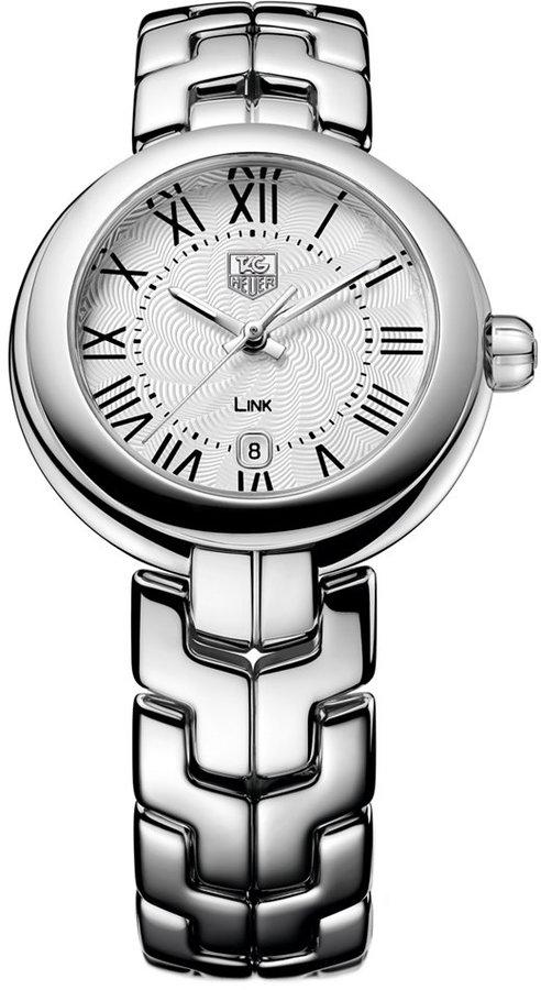 TAG Heuer Women's Swiss Link Stainless Steel Bracelet Watch 29mm WAT1416.BA0954