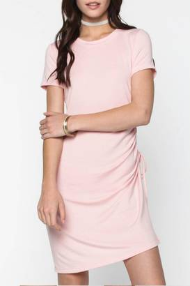 Everly Blush Side-Tie Dress $44 thestylecure.com