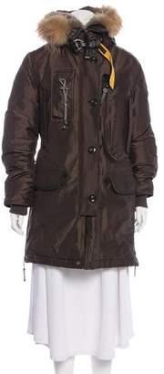 Parajumpers Fur-Trimmed Down Coat