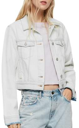 AllSaints Ellis Cropped Denim Jacket