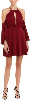 Milly Melody Silk-Blend A-Line Dress