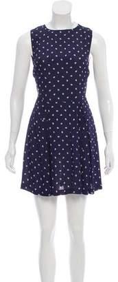 Reformation Sleeveless Cutout Mini Dress