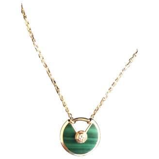 Cartier Amulette Pink Gold Necklace
