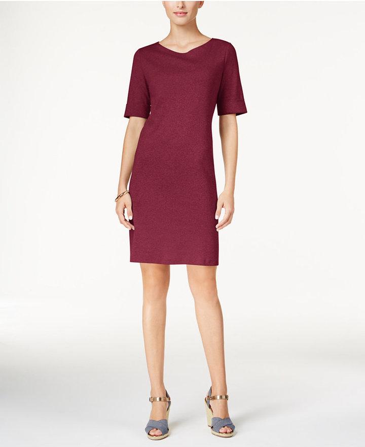 Karen Scott T-Shirt Dress, Only at Macy's 4
