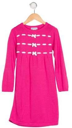 Florence Eiseman Knit Long Sleeve Dress