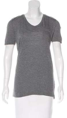 Alexander Wang Knit Short Sleeve Top
