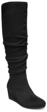 Dr. Scholl's Central Wide Calf Wedge Boot