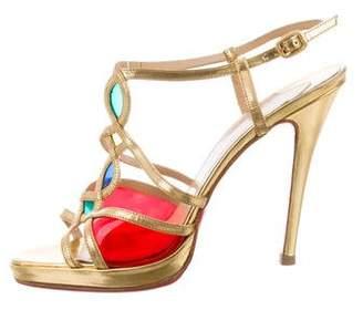 Christian Louboutin Multicolor PVC Sandals