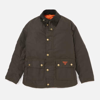 Barbour Boys' Stybarrow Wax Jacket