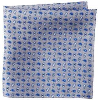 Nordstrom Rack Reversible Neat Silk Solid Pocket Square