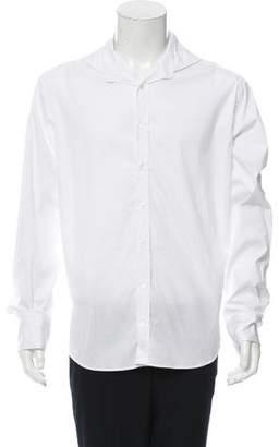 Michael Bastian Cutaway Collar Button-Up Shirt w/ Tags