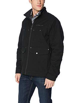 Cinch Men's Canvas Jacket with Concealed Carry Pockets