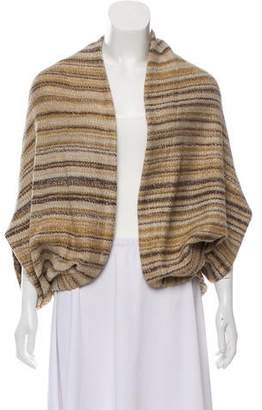 Yigal Azrouel Striped Open Front Cardigan
