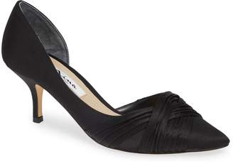 Nina Blakely Half d'Orsay Pointy Toe Pump
