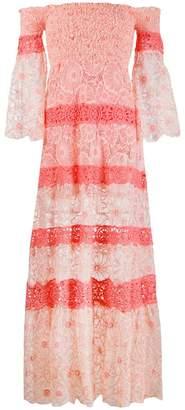 Temptation Positano off-shoulder maxi dress