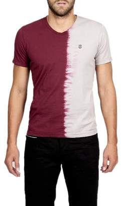 Cult of Individuality Two-Tone V-neck Tee