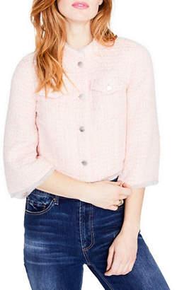 Rachel Roy Crop Tweed Jacket