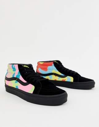 799a7a349e Vans SK8-Mid Reissue camo sneakers in multi VN0A3MV8ULX1