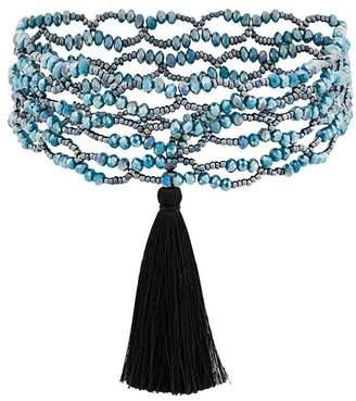 Night Market tassel detail necklace