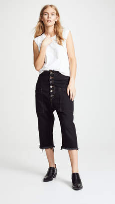 Marques Almeida Drop Crotch Trousers