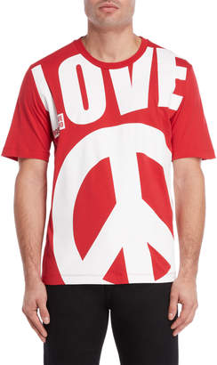 Love Moschino Love Peace Tee