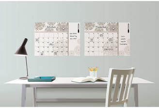 Brewster Wall Wall Pops Kolkata Dry Erase Calendar Decal with Notes