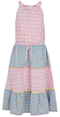 Fat Face Girls' Edith Funfair Dress, Pink