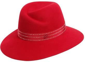 Maison Michel Virginie Rabbit Fur Felt Hat