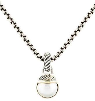 David Yurman Pearl Pendant Necklace