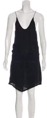 IRO Embroidered Mini Dress