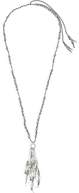 Chan LuuChan Luu Adjustable Crystal Fringe Necklace
