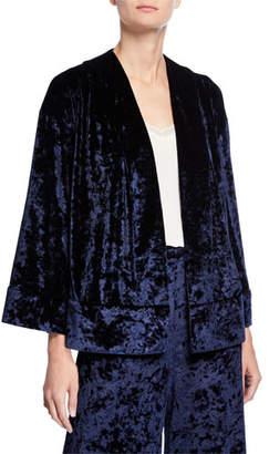 LIKELY Leslie Velvet Long-Sleeve Kimono