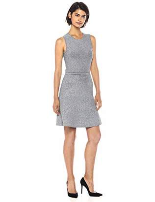 Theory Women's Sleeveless Flare Knit Dress