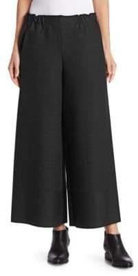 Issey Miyake Cosmic Ripple Striped Wide-Leg Pants