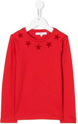 Givenchy Kids star print long sleeve T-shirt