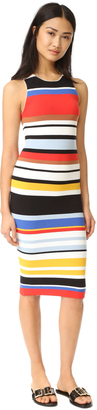 alice + olivia Jenner Striped Dress $330 thestylecure.com