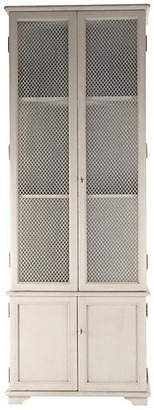 """One Kings Lane Ivo 92"""" French Country Cabinet - White"""