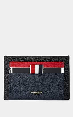 Thom Browne Men's Leather & Patent Leather Card Case