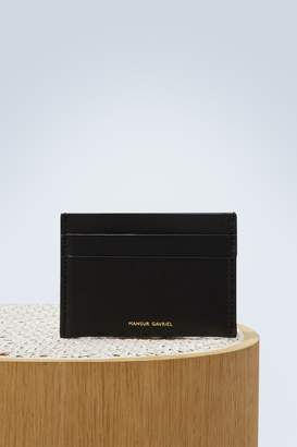 Mansur Gavriel Leather card holder