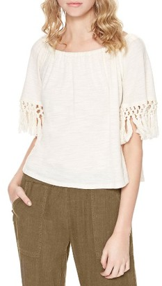 Women's Sanctuary Sedona Cotton Knit Off The Shoulder Top $69 thestylecure.com