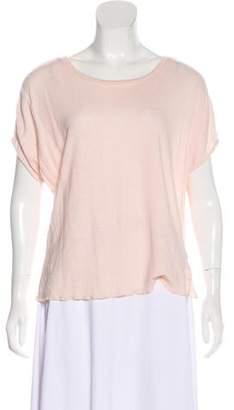Apiece Apart Linen Short Sleeve Top
