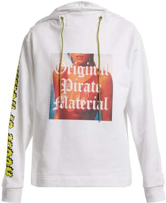 House of Holland Original Pirate Material cotton hoodie