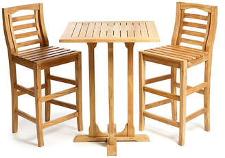 Regal Teak Teak Bar Table & Chairs Set