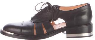 Barbara BuiBarbara Bui Leather Cutout Oxfords