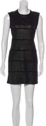 IRO Leather Bodycon Dress