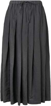 Aspesi long pleated skirt