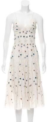 Gerard Darel Sleeveless Embellished Dress