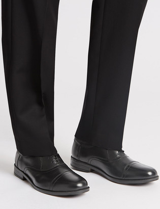 Marks and Spencer Extra Wide Fit Leather Oxford Lace-Up Shoes